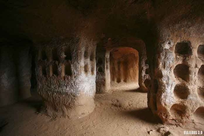 cueva de los cien pilares, que ver en Arnedo