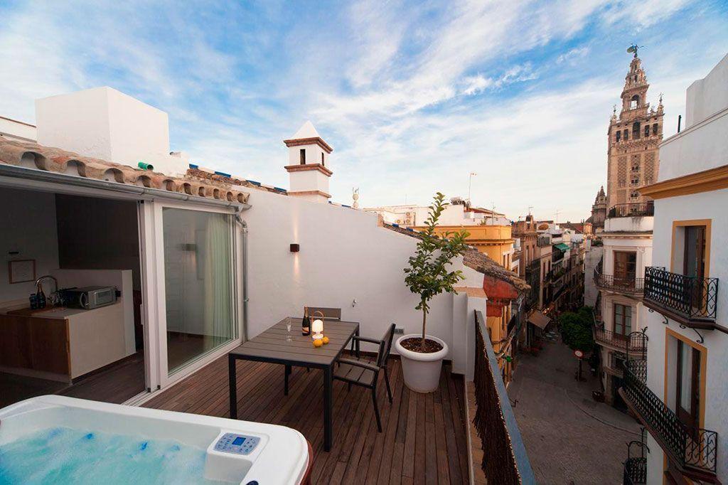Jacuzzi Exterior Sevilla.Los 10 Mejores Hoteles Con Jacuzzi Privado En Espana