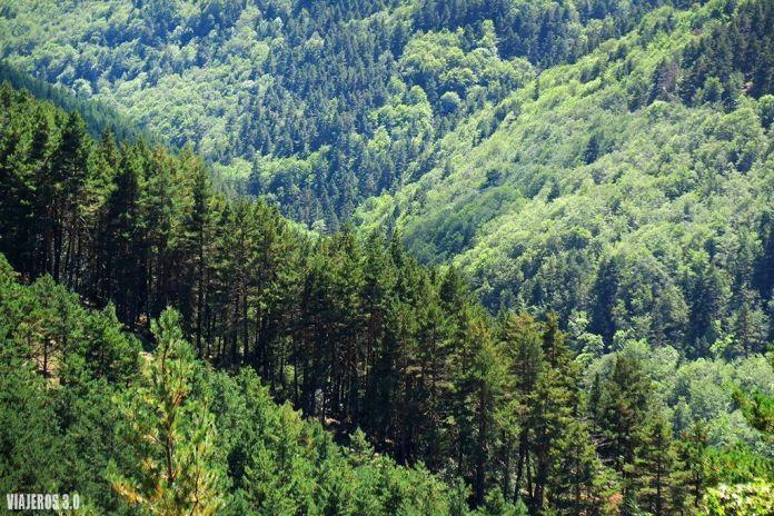 Sierra de Cebollera y las cascadas de Puente Ra