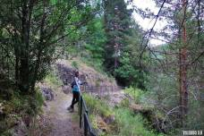 Senda de la Blanca en Sierra de Cebollera