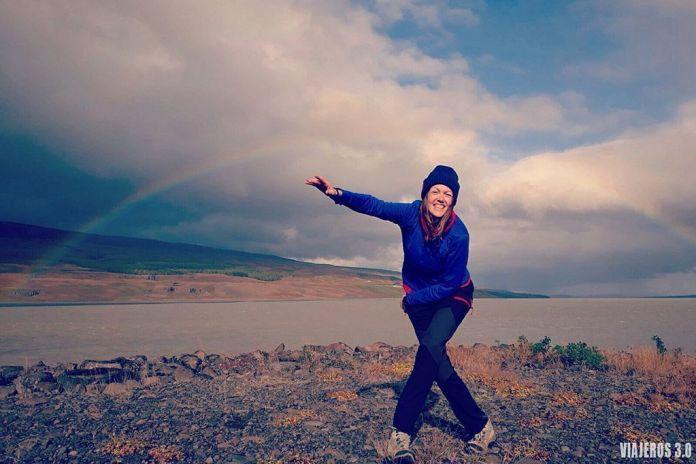 Rebeca Serna de Viajeros 3.0 en ruta por Islandia