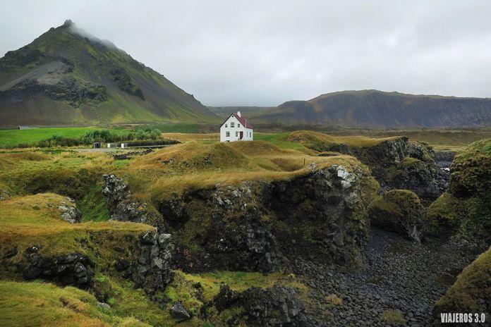 Arnarstapi, ruta por Islandia