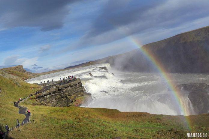 Ruta del Círculo Dorado en Islandia, Gullfoss