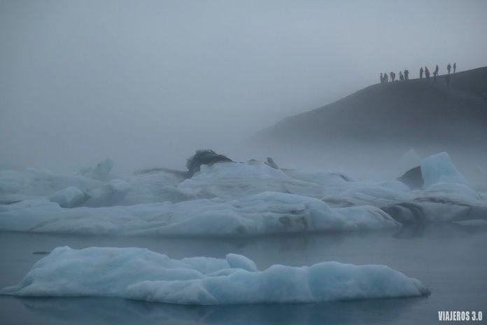 lagodeJökulsárlón, ruta por Islandia en 2 semanas