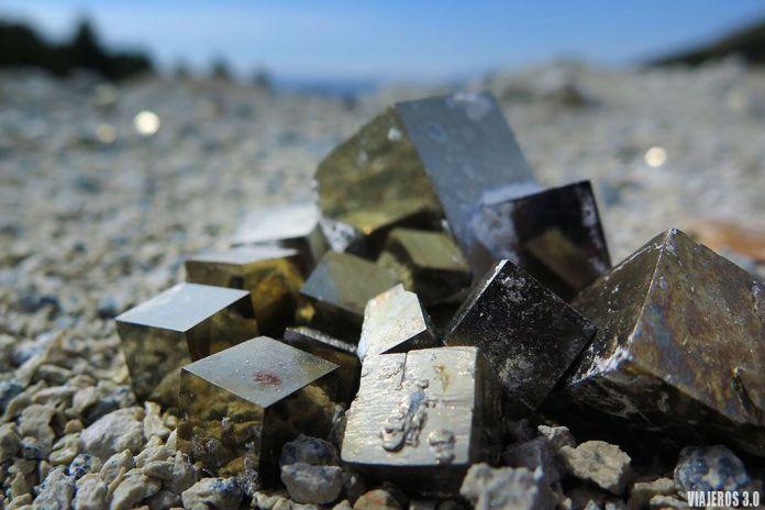 mina de pirita de Navajún en La Rioja