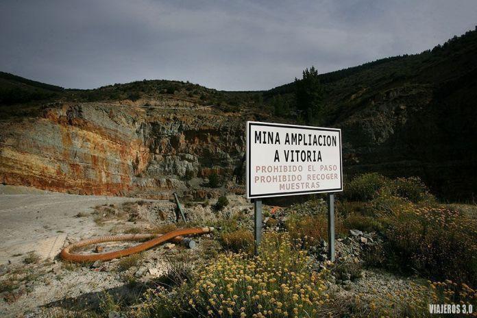 mina de pirita de Navajún Ampliación a Vitoria