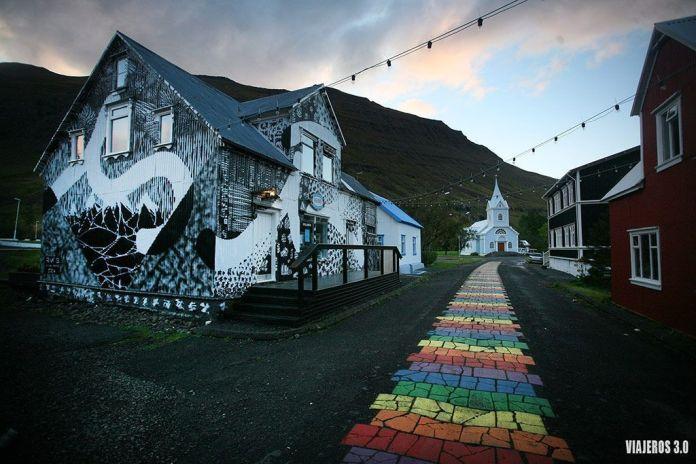 Seydisfjördur, ruta por Islandia en 2 semanas