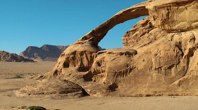 desierto de Wadi Rum en Jordania