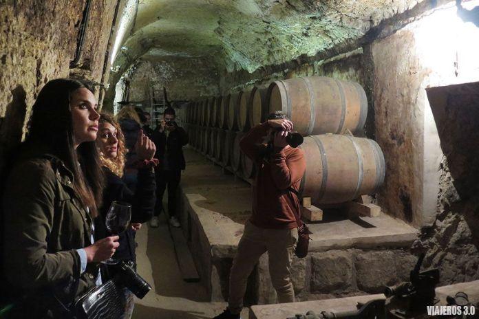 calados de Bodegas Lecea, actividades de enoturismo en La Rioja
