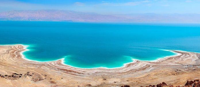 Mar Muerto en el lado jordano