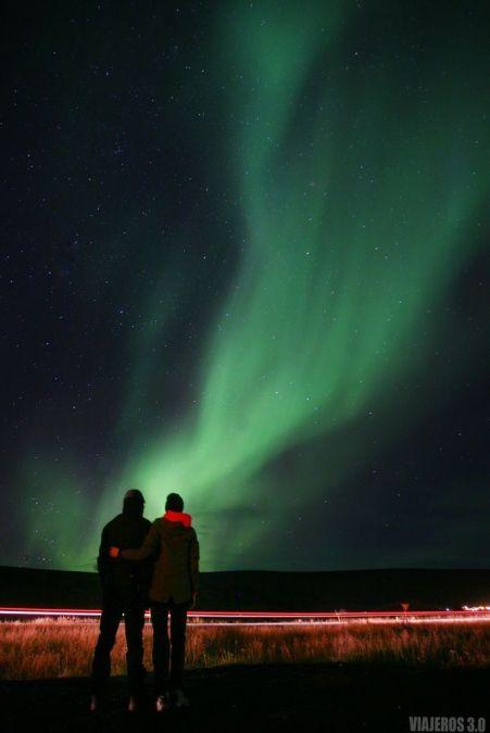 Datos prácticos para ver auroras boreales en Islandia