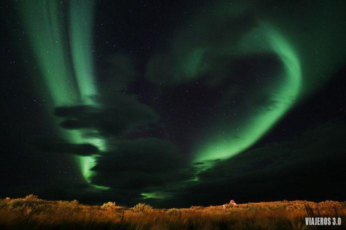 Consejos para ver auroras boreales en Islandia