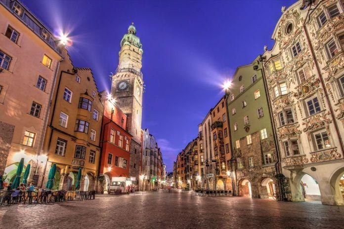 centro de Innsbruck, destinos europeos de cuento