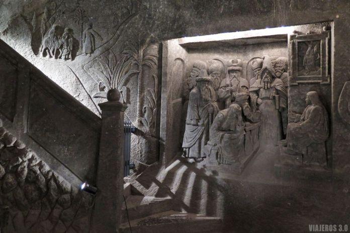Minas de Sal de Wieliczka, catedral de sal.