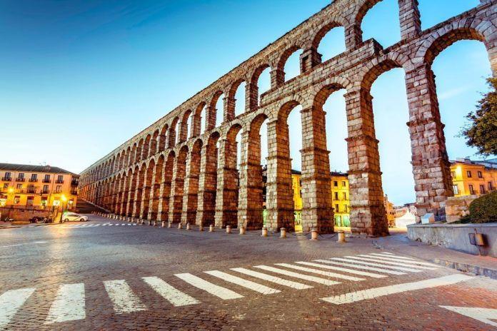 Acueducto de Segovia, los mejores monumentos de España.