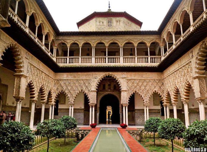 Alcázar de Sevilla, los mejores monumentos de España.
