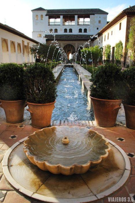 Jardines de La Alhambra, que ver y que hacer en Granada