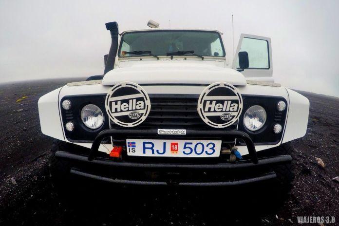 Super Jeep, excursión a cueva de hielo en Islandia