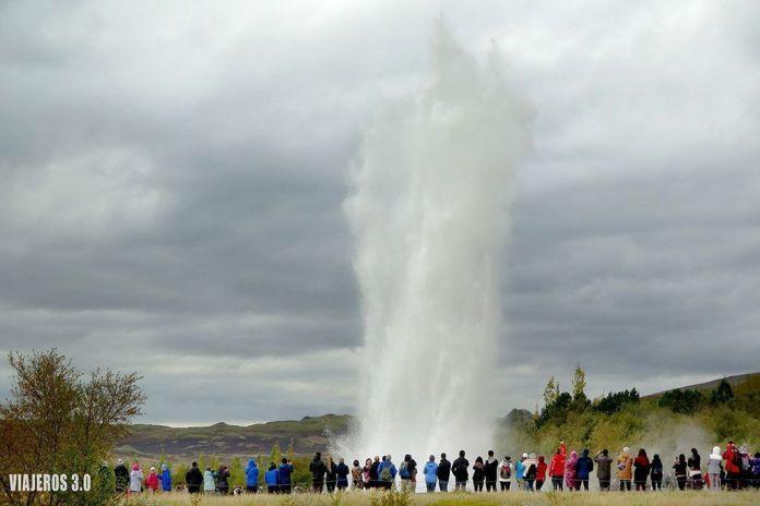 Ruta del Círculo Dorado en Islandia, Geysir