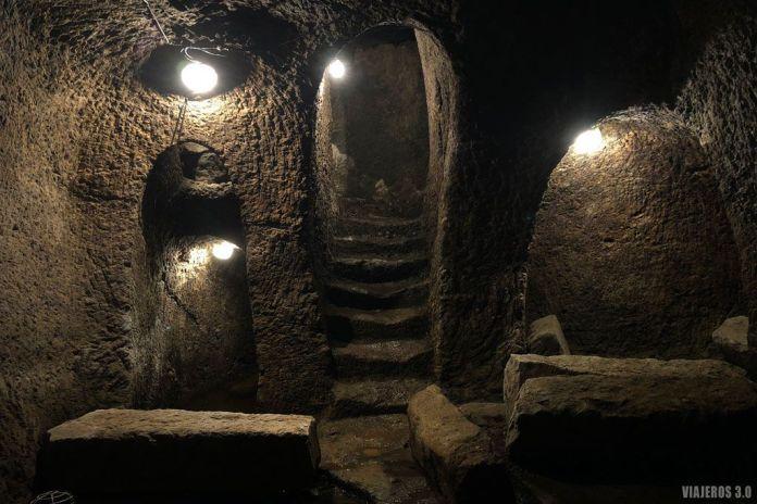 Qué ver en Fermoselle, interior de las bodegas.