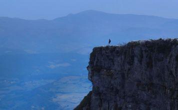 ruta al Pico Tologorri en Sierra Salvada (Bizkaia)