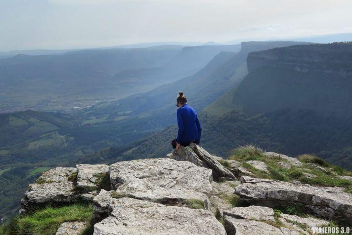 ruta de ascenso al Pico Tologorri, en Sierra Salvada.