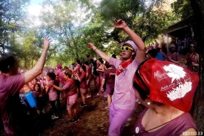 Batalla del Vino de Haro, fiesta en La Rioja Alta