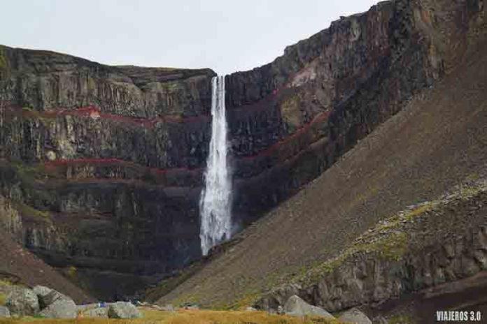 Las cascadas más bonitas de Islandia, Hengifoss
