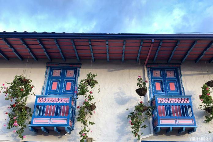 calles de Salento, arquitectura popular