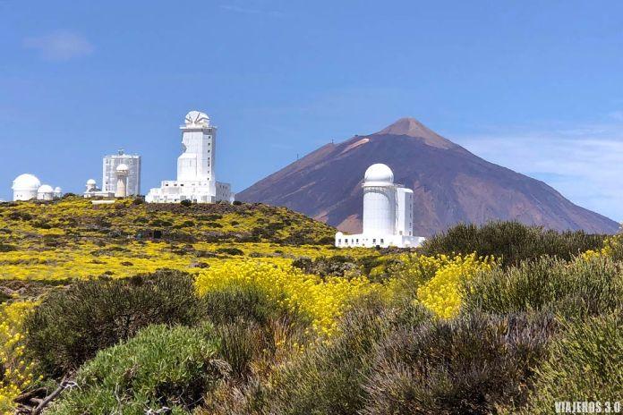 Visita al Observatorio Astronómico del Teide