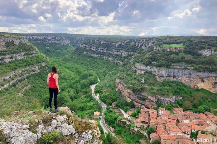Vistas del pueblo más bonito de Burgos, Orbaneja del Castillo