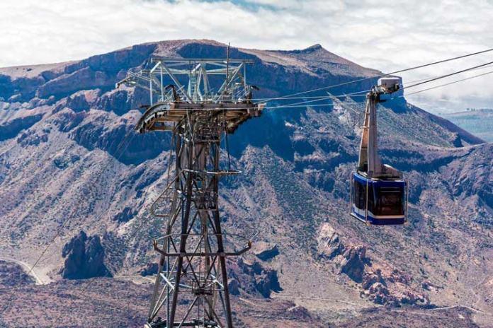 cómo subir al pico del Teide en teleférico