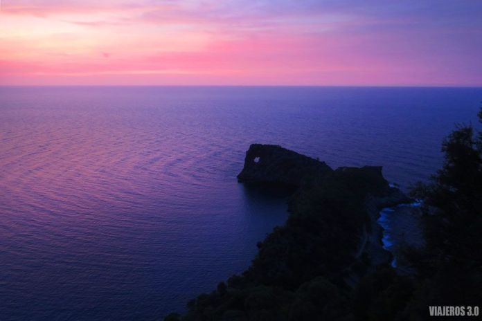 Atardecer en Sa Foradada, Mallorca