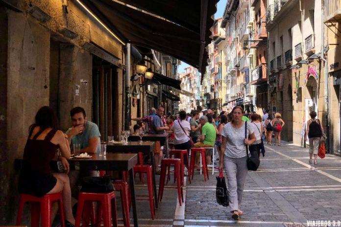 Calle Estefeta, que hacer y que ver en Pamplona