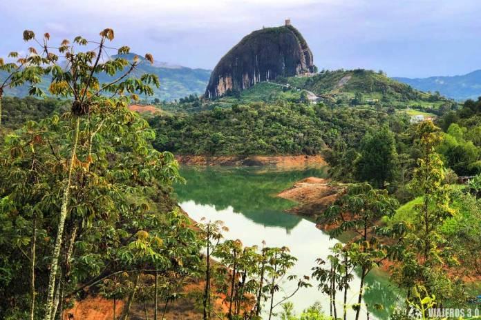 Piedra del Peñol, qué ver en una ruta por Colombia