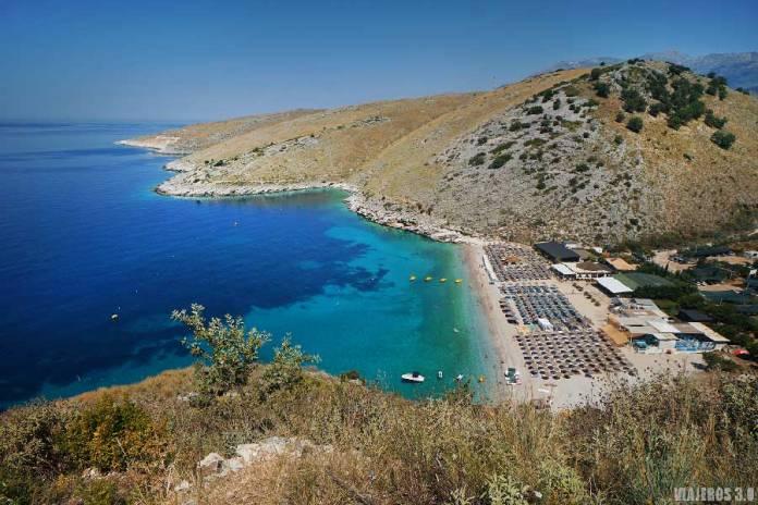 Llamani Beach, las mejores playas de la Riviera Albanesa