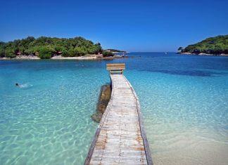 Mejores playas de Albania, Ksamil, Riviera albanesa