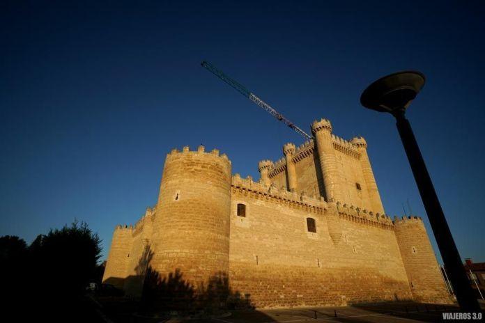 Castillo de Fuensaldaña, ruta por los Castillos de Valladolid.