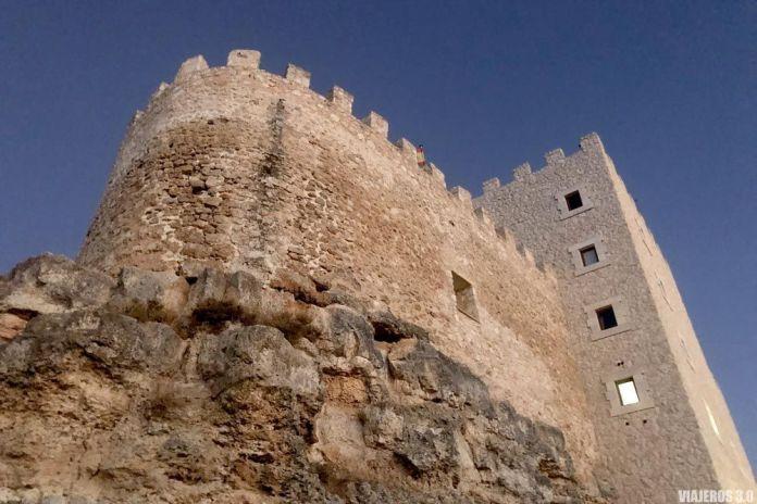 amanecer en Curiel, dormir en un Castillo en Valladolid