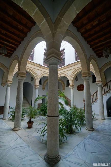 Palacio Anaríbar, patios de El Puerto de Santa María