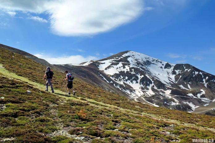 Ruta al pico San Lorenzo, en la Sierra de la Demanda