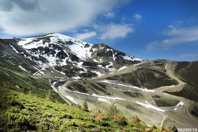 Vista panorámica del pico San Lorenzo.