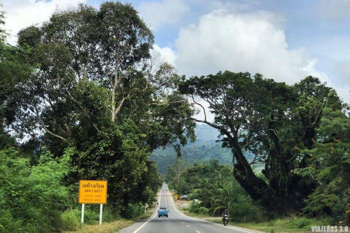 Carreteras, ruta por Tailandia en 15 días