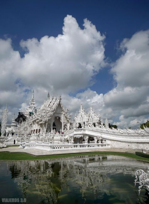 Templo blanco de Chiang Rai.
