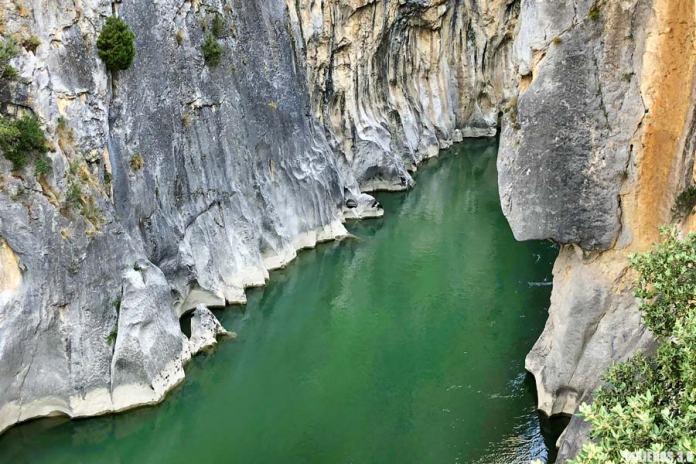 Puente del Diablo, ruta por la Foz de Lumbier.