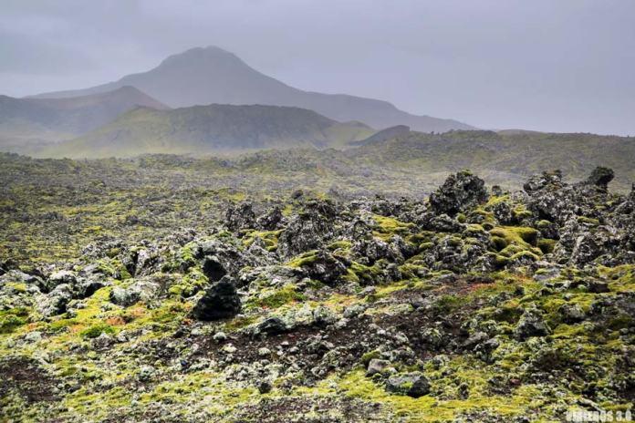 Campos de lava, qué ver en la península de Snaefellsnes