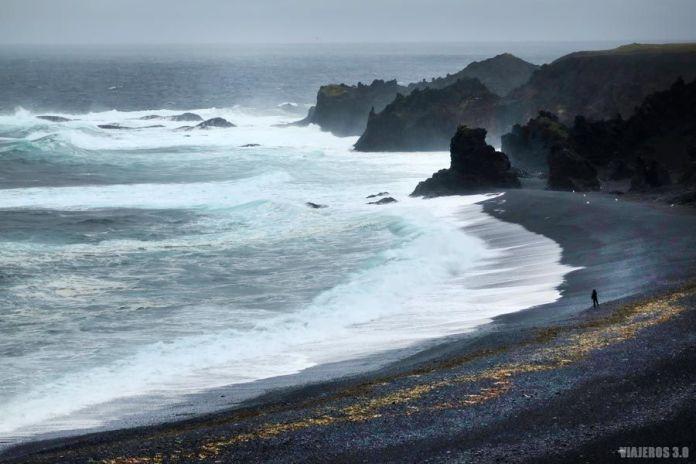Playa de Djúpalónssandur, qué ver en península de Snaefellsnes
