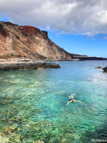Las mejores piscinas naturales y playas de El Hierro, charco de Tacorón