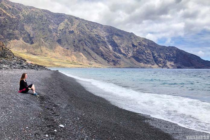 playas volcánicas en El Hierro