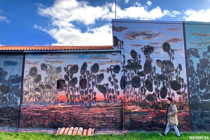 Street Art, Murales de Tubilla del Lago en Burgos